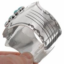 Wide Silver Navajo Cuff 25919