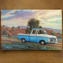 Old Ford Pickup Truck Navajo Limited Edition Giclée Print by JC Black