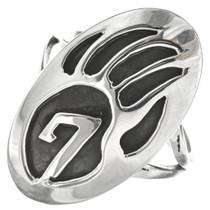 Bear Paw Ladies Sterling Ring 0058