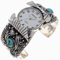 Navajo Turquoise Cuff Watch 24511