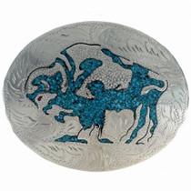 Buffalo Silver Belt Buckle 23170