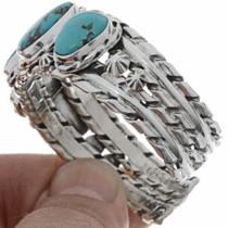 Southwest Turquoise Cuff Bracelet 21021