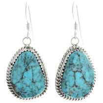Turquoise French Hook Earrings 28584
