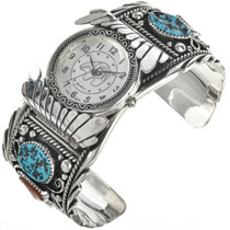 Native American Turquoise Watch 24447