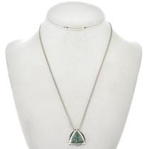 Variscite Opal Silver Slider Pendant 29553