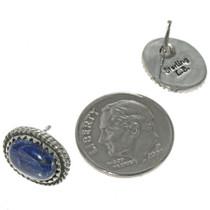 Navajo Blue Gemstone Post Earrings 28443