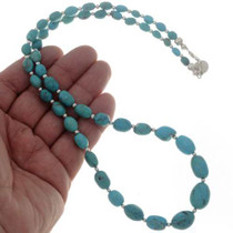 Southwest Turquoise Bead Necklace 26789