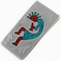 Southwest Kokopelli Money Clip 21038