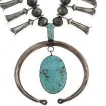 Old Pawn Indian Necklace 26823