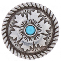 Turquoise Silver Concho 25300