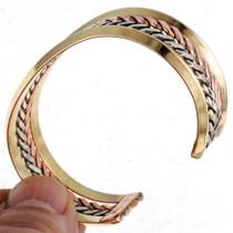 Copper Gold Silver Bracelet 21522
