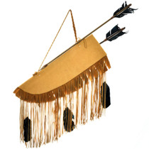 Plains Indian Buckskin Quiver