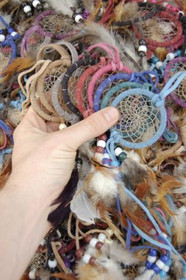 Wholesale 2 Inch Dreamcatchers 3948