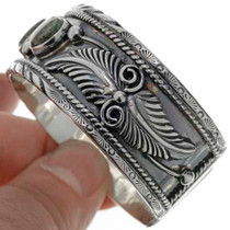 Turquoise Silver Cuff Bracelet 26455
