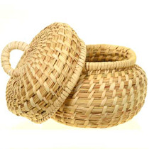 Southwest Basket With Lid
