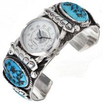 Sleeping Beauty Turquoise Watch Cuff 0048