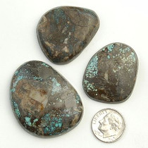 PEEK A BOO Turquoise Cabochons Various Shapes 210 Carats