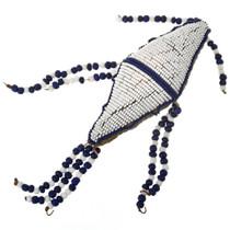 Vintage Beaded Buckskin Protection Amulet 30490