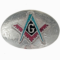 Freemason Belt Buckle 215394