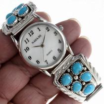 Navajo Turquoise Watch 23111