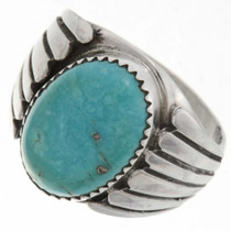 Turquoise Mens Ring 27095