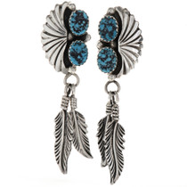 Turquoise Drop Earrings 26933