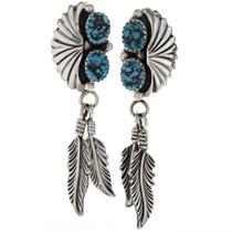 Turquoise Drop Earrings 26933