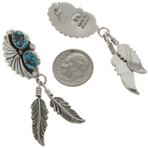Navajo Feather Earrings 26933