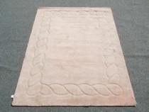 Modern Plush Wool Rug 25131