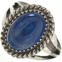 Lapis Lazuli Sterling Ring