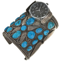 VintageTurquoise Watch Cuff 0050