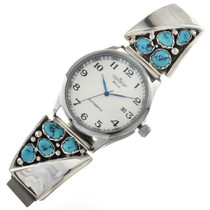Navajo Turquoise Vintage Mens Watch 29636