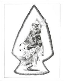 Kachina Dancer Limited Edition Print Frankie Nez