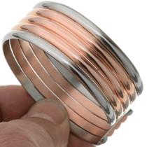 Navajo Copper Silver Cuff 81696