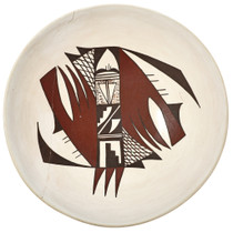 Priscilla Navasie Pottery Bowl 29429