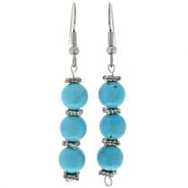 Blue Turquoise Earrings 24035