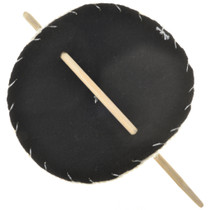 Ponytail Holder Wooden Stick Barrette 27759