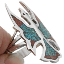Peyote Bird Ladies Ring  27077
