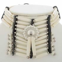 Silver Concho Bone Choker 27435