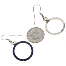 Silver Gemstone Southwest Earrings 19662