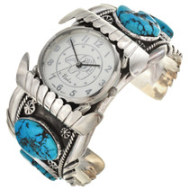 Turquoise Navajo Watch Cuff 29276