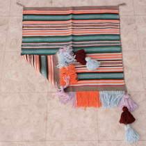 Saddle Blanket with Fringe Tassels 28387