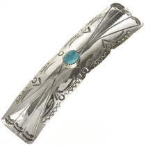Turquoise Sterling Southwest Hair Barrette 27761