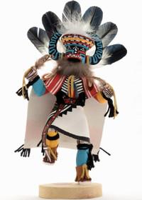 Navajo War Kachina Doll 22043