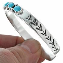 Sterling Turquoise Ladies Bracelet 28926