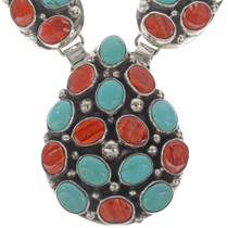 Turquoise Shell Silver Jewelry 27903