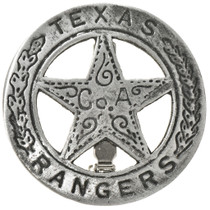 Texas Rangers Co. A Silver Badge 29199