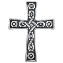 Sterling Silver Cross Pendant Charm Bracelet Necklace 1