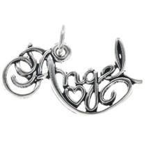 Sterling Silver Angel Charm Bracelet Charm Pendant Necklace