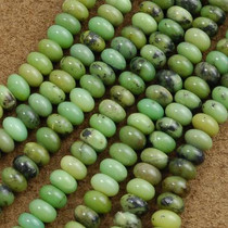 5mm by 8mm Australian Jade Beads 16 inch Strand